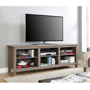 70-inch Essentials TV Stand - Driftwood