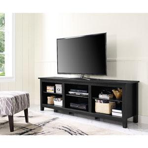 70-inch Essentials TV Stand - Black