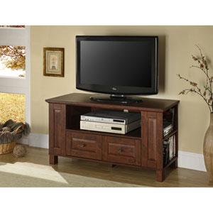 Traditional Brown 44-Inch Multi Purpose TV Console