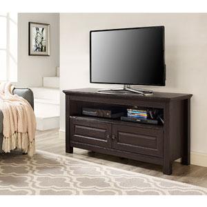 Cortez 44-inch Espresso Wood TV Stand Console