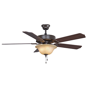 Aire Decor Oil Rubbed Bronze Three-Light LED Ceiling Fan