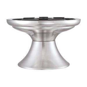 Spitfire Brushed Nickel Eight-Inch Close to Ceiling Kit