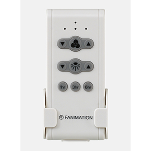 Gray White Black Non-Reversing Remote with Receiver Fan Wall Control