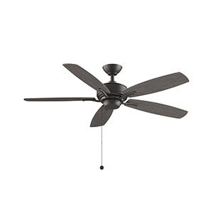 Aire Deluxe Matte Greige Ceiling Fan