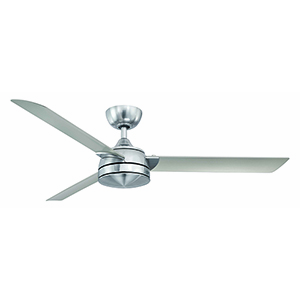Xeno Brushed Nickel LED Ceiling Fan