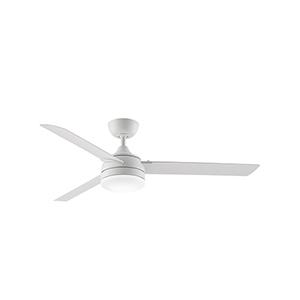 Xeno Wet Matte White LED Ceiling Fan