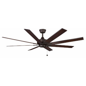 Levon Dark Bronze 63-Inch Ceiling Fan