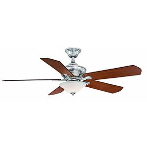 Camhaven v2 Brushed Nickel LED Ceiling Fan