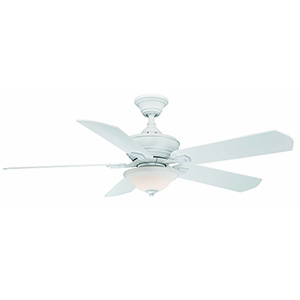 Camhaven v2 Matte White LED Ceiling Fan