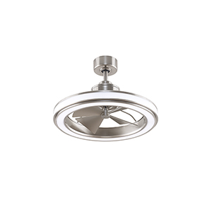 Gleam Brushed Nickel LED Ceiling Fan