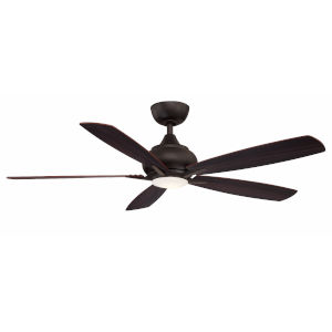 Doren Dark Bronze 52-Inch LED Ceiling Fan