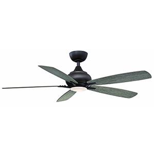 Doren Matte Greige LED Ceiling Fan