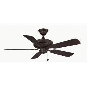 Edgewood Dark Bronze 44-Inch Indoor Outdoor Ceiling Fan