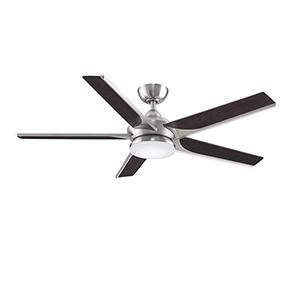 Subtle 56 Brushed Nickel LED Ceiling Fan