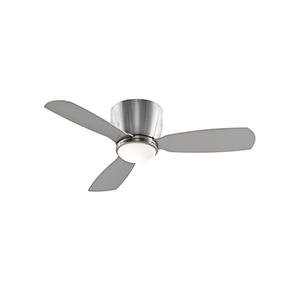 Embrace 44 Brushed Nickel LED Ceiling Fan