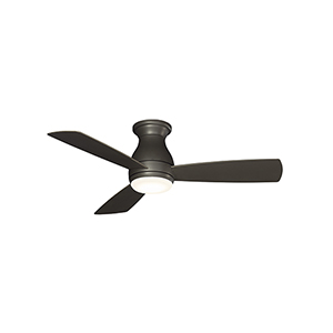 Hugh 44 Matte Greige LED Ceiling Fan