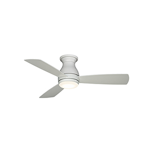 Hugh 44 Matte White LED Ceiling Fan