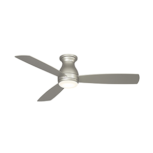 Hugh 52 Brushed Nickel LED Ceiling Fan