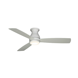 Hugh 52 Matte White LED Ceiling Fan