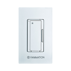 White Three Speeds Fan Wall Control