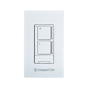 White Light and Three Speeds Fan Wall Control