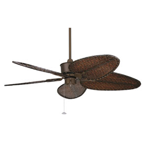 Islander Oil Rubbed Bronze Ceiling Fan with Antique Blades