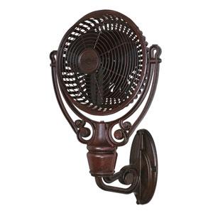 Old Havana Rust Wall Mount Fan