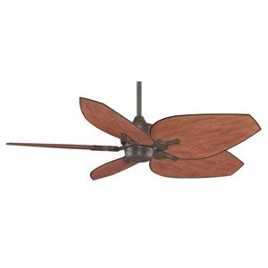 Islander Oil Rubbed Bronze 52-Inch Ceiling Fan with Dark Mango Blades