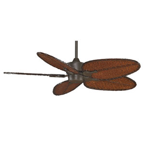 Islander Oil Rubbed Bronze 52-Inch Ceiling Fan with Antique Bamboo Blades