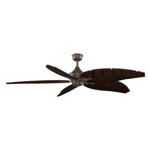 Big Island Oil Rubbed Bronze Ceiling Fan with Walnut Blades