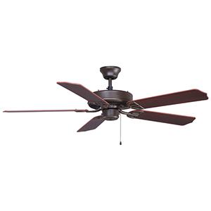 Aire Décor Builder Series 220-Volt Oil-Rubbed Bronze Ceiling Fan