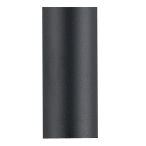 Black 12-Inch Ceiling Fan Downrod