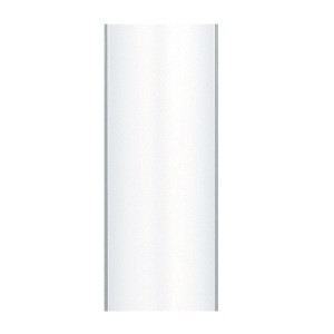 Matte White 18-Inch Ceiling Fan Downrod