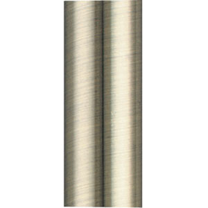 Antique Brass 18-Inch Stainless Steel Downrod