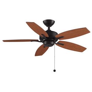 Aire Deluxe Dark Bronze 44-Inch Ceiling Fan