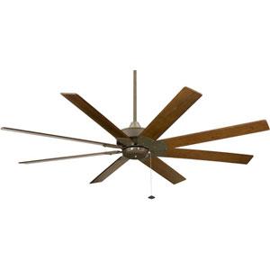 Levon 220V Oil-Rubbed Bronze 63 Inch Blade Span Ceiling Fan w/ Walnut Blade