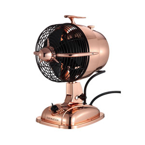 Urbanjet Rose Gold Table Fan