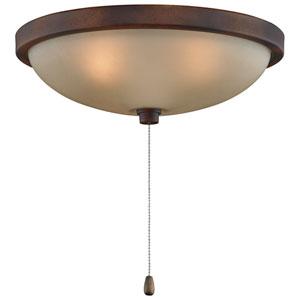 Tortoise Shell Low Profile 14-Inch Bowl Light Kit