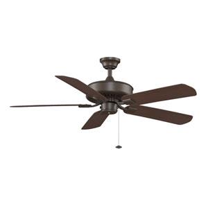 Edgewood Oil-Rubbed Bronze 50 Inch Blade Span Ceiling Fan w/ Dark Cherry Blade