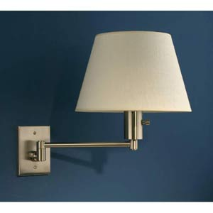 Bilbao Swing Arm Brushed Nickel Wall Sconce