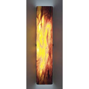 Channel Rootbeer Fluorescent Wall Sconce