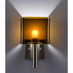 Dessy One/6 Amber/Amber Wall Sconce