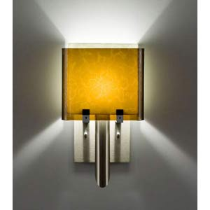 Dessy One/6 Amber/Snow Wall Sconce