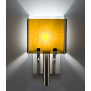 Dessy One/6 Amber/White Wall Sconce