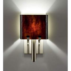 Dessy One/6 Rootbeer/Snow Wall Sconce