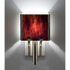 Dessy One/6 Rootbeer/White Wall Sconce