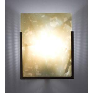 F/N One Bronze Zinfandel One-Light Wall Sconce