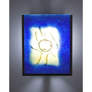F/N Two Fluorescent Baron Two-Light Wall Sconce