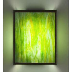 F/N Three Fluorescent Meadow Two-Light Wall Sconce