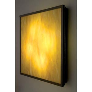 F/N Big Fluorescent Toffee Four-Light Wall Sconce